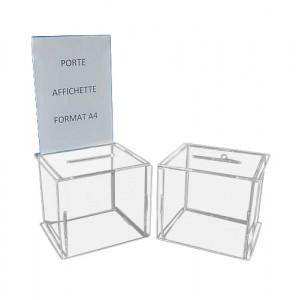 Petite urne pour tombola - Devis sur Techni-Contact.com - 1