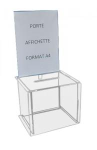 Petite urne pour tombola - Devis sur Techni-Contact.com - 2