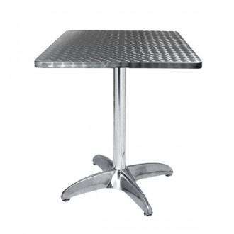 Table terrasse café en inox - Devis sur Techni-Contact.com - 1