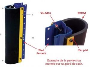 Protection pied pour rayonnage - Devis sur Techni-Contact.com - 3