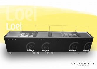 Machine ice cream roll à 4 planchas thai - Devis sur Techni-Contact.com - 2