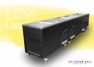 Machine ice cream roll à 4 planchas thai - Devis sur Techni-Contact.com - 3