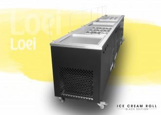 Machine ice cream roll à 4 planchas thai - Devis sur Techni-Contact.com - 4