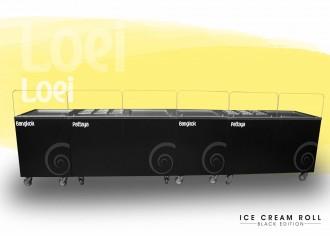 Machine ice cream roll à 4 planchas thai - Devis sur Techni-Contact.com - 6