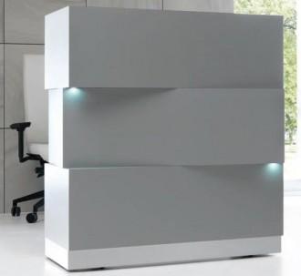 Banque d'accueil lumineuse à système LED - Devis sur Techni-Contact.com - 1