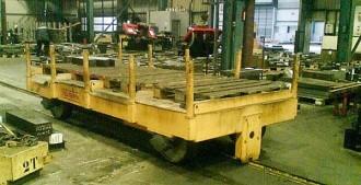 Remorque manutention industrielle - Devis sur Techni-Contact.com - 1