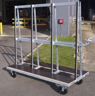 Chariot pour charges longues 500 kg - Devis sur Techni-Contact.com - 1