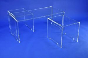 Table et poufs plexiglas - Devis sur Techni-Contact.com - 2