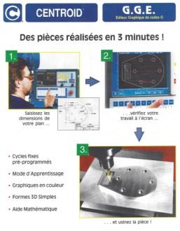 Fraiseuse à tête verticale rigide DF 24CNC - Devis sur Techni-Contact.com - 2