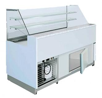Vitrine réfrigérée froid ventilé avec réserve - Devis sur Techni-Contact.com - 2