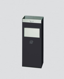 Cendrier avec poubelle en acier - Devis sur Techni-Contact.com - 2