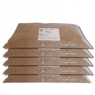 Pack de 5 Sacs de 20 kilos de granulat de maïs sans poussière - Devis sur Techni-Contact.com - 1