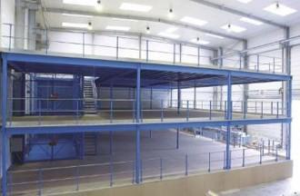 Plateforme stockage industrielle - Devis sur Techni-Contact.com - 1