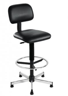 Chaise haute design avec repose-pieds fixe - Devis sur Techni-Contact.com - 1