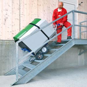 Monte-escalier électrique pour coffre fort - Devis sur Techni-Contact.com - 2