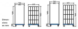 Roll container base plastique - Devis sur Techni-Contact.com - 3