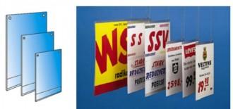 Porte-affiches à suspendre, à coller ou magnétique - Devis sur Techni-Contact.com - 1