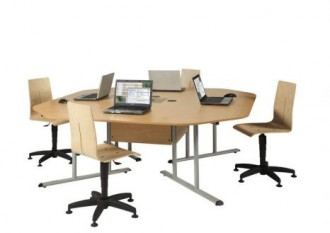 Table de bureau marguerite - Devis sur Techni-Contact.com - 1
