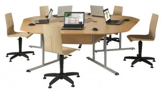 Table de bureau marguerite - Devis sur Techni-Contact.com - 2