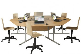 Table de bureau marguerite - Devis sur Techni-Contact.com - 3