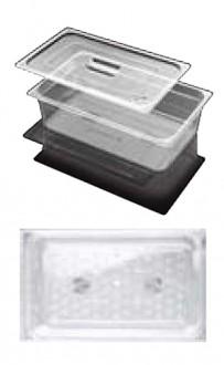 Bac gastro GN 1/6 de stockage alimentaire en polycarbonate - Devis sur Techni-Contact.com - 1