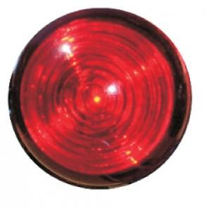 Feu de position arrière LED rond rouge - Devis sur Techni-Contact.com - 1