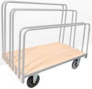 Chariot porte panneaux à ridelles - Devis sur Techni-Contact.com - 1