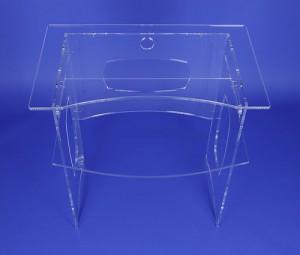 Bureau d'ordinateur en plexiglass - Devis sur Techni-Contact.com - 3