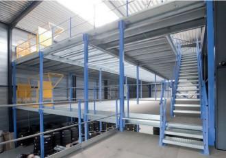 Plateforme mezzanine multi niveaux - Devis sur Techni-Contact.com - 1