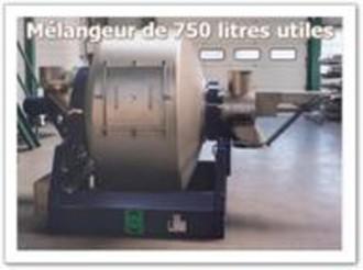 Mélangeur industriel alimentaire 500 à 1000 litres - Devis sur Techni-Contact.com - 1