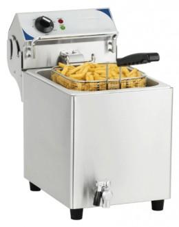 Friteuse électrique avec vanne de vidange - Devis sur Techni-Contact.com - 1
