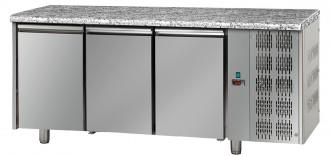 Tour pâtissier réfrigéré 3 portes top marbre - Devis sur Techni-Contact.com - 1