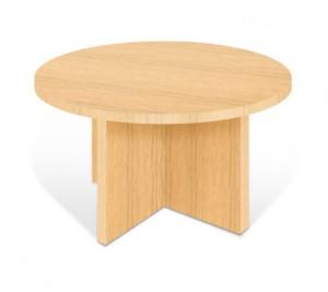 Table basse ronde en bois - Devis sur Techni-Contact.com - 1