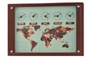 Horloge fuseau horaire - Devis sur Techni-Contact.com - 1