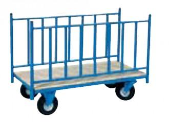 Chariot avec 2 ridelles latérales - Devis sur Techni-Contact.com - 1