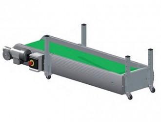 Convoyeur à tapis droit industriel - Devis sur Techni-Contact.com - 1