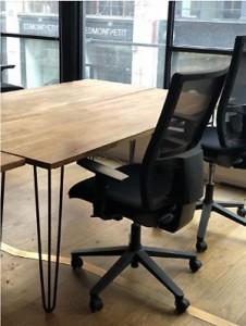 Bureau droit en bois massif occasion - Devis sur Techni-Contact.com - 2