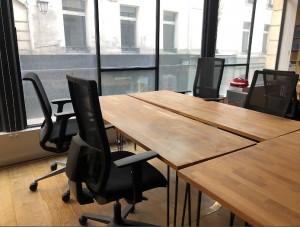 Bureau droit en bois massif occasion - Devis sur Techni-Contact.com - 3