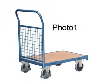 Chariot modulaire à dossiers grillagés - Devis sur Techni-Contact.com - 1