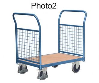 Chariot modulaire à dossiers grillagés - Devis sur Techni-Contact.com - 2