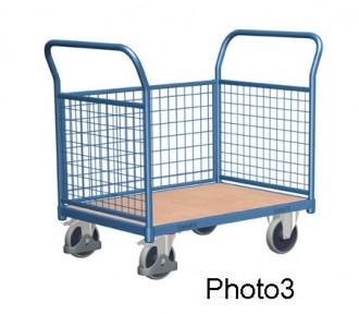Chariot modulaire à dossiers grillagés - Devis sur Techni-Contact.com - 3