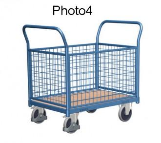 Chariot modulaire à dossiers grillagés - Devis sur Techni-Contact.com - 4