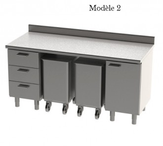 Meuble bas L 1800 mm - Devis sur Techni-Contact.com - 2