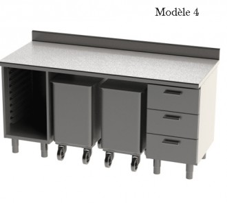 Meuble bas L 1800 mm - Devis sur Techni-Contact.com - 4