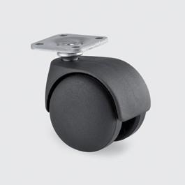 Roulette pour siège à moyeu lisse - Devis sur Techni-Contact.com - 1