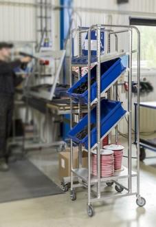Chariot porte caisses Europe - Devis sur Techni-Contact.com - 3
