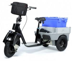 Chariot électrique monoplace - Devis sur Techni-Contact.com - 1