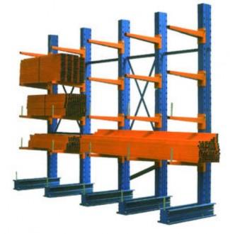 Rayonnage cantilever lourd longueur bras 2000 mètres - Devis sur Techni-Contact.com - 1