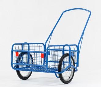 Chariot de transport grillagé - Devis sur Techni-Contact.com - 1