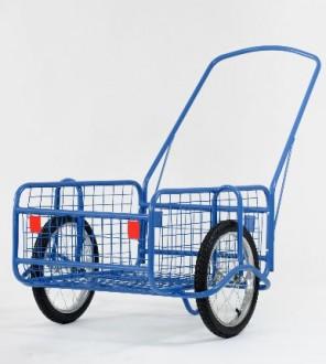 Chariot de transport grillagé - Devis sur Techni-Contact.com - 3